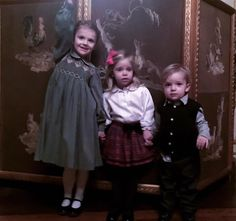 "Newmyroyals:  Princess Madeleine posted this picture on Facebook and titled it Cousins at Christmas Lunch at the Palace yesterday!"", December 14, 2016-Princess Estelle, Princess Leonore and Prince Nicolas"