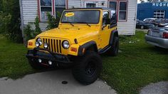 Used Jeep Wrangler for Sale in Paris, IL Jeep Wrangler For Sale, Jeep Wrangler Sport, Jeep Tj, Dream Cars, 4x4, Toyota, Monster Trucks, Nice, Nice France