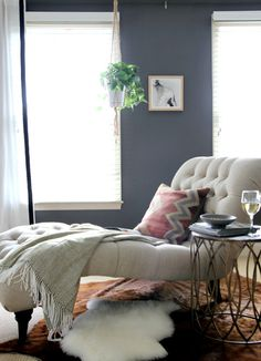 A Moody Luxe Bedroom Makeover by Dana Miller, HouseTweaking | greenhaus