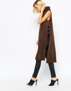 River Island | River Island Knitted Tabbard at ASOS