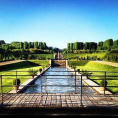 christinameiner The #baroque #garden at #frederiksborg #castle .. #nature #summer #gods #creation