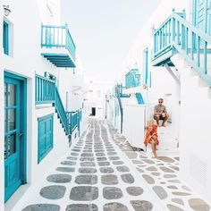 See 4683 photos and 158 tips from 26021 visitors to Μύκονος (Mykonos Island). Beautiful World, Beautiful Places, Beautiful Streets, Places To Travel, Places To Go, Travel Destinations, Myconos, Travel Goals, Vacation Travel
