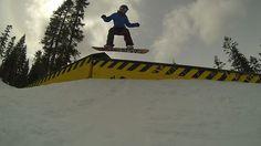 Greta Kallerman Season Edit 2013 by John Considine. Snowboarding park at Sierra at Tahoe, Heavenly, and Northstar in Lake Tahoe, CA.  http://snow.boardgirl.com/snowboard-even-more-end-of-season-edits-2013/