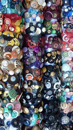 a lot of button bracelets