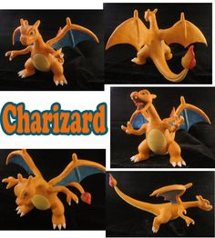 Charizard Sculpture: Collage by ClayPita