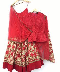 Ridhi Mehra bride # draped lehenga # hand crafted