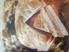 Muffuletta Sandwich Muffuletta Sandwich, Creole Cooking, Sandwiches, Bread, Food, Essen, Breads, Baking, Paninis