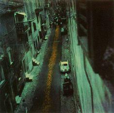 Andréi Tarkovski. Calle de San Gregorio (Italia). 1984.