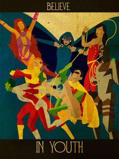 Believe - Teen Titans by *KerrithJohnson on deviantART