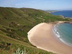 Playas en Llanes, Asturias Spain, donde voy... playa nudista