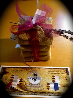 Li'l Sis Goat Milk Soap gift wrapping and Li'l Sis Goat Milk Soap Bookmark