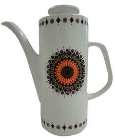 J&G Meakin 'Inca' Coffee Pot