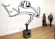 DAVID SMITH http://www.widewalls.ch/artist/david-smith/ #abstract #expressionism #sculpture ith