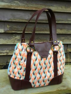 Swoon Sewing Patterns Harriet Expandable Tote