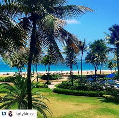 Endless shades of blue and green in paradise at @riomarwyndham! #Repost @katykinzz