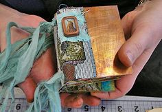 Nina Bagley journal.. I took her class at my first ArtFest...one of the most memorable experiences of my life.