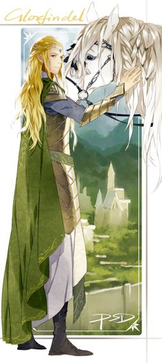 Glorfindel by PSD (by PSDIED,by PSlenDy).
