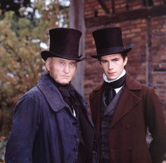 the life and adventures of nicholas nickleby - Charles Dance and James D'Arcy