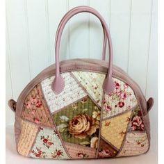 Antique Rose Holiday Bag