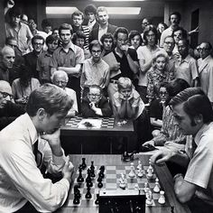 Bobby Fischer left playing a speed match against Andrew Soltis in 1971 at the Manhattan Chess Club. For the first time since 1995 when it was held on the 107th floor of the World Trade Center the world chess championship is scheduled to take place in New York. And this November there is a chance that either Hikaru Nakamura who grew up in White Plains or Fabiano Caruana grew up in Park Slope will be challenging for the title. If either chess player were to win he would be the first American…