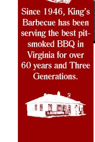 King's Barbecue - Petersburg, Virginia