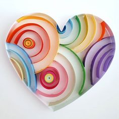 Quilled paper art: '' LOVE '' _ #QuillingByAslim #quilledpaperart #quilling #art #artoftheday #love #hearth #colourful #colourfullove #wallart #handmade #homedecor #artoftheday #paper #papel #quilledart #valentinesday #giftideas #gift #kağıttelkari #elişi #aşk #hediyelik #rengarenk