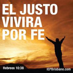 El justo vivira por fe