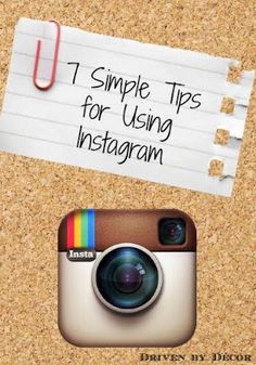 "Great ""how to"" tips for using Instagram"