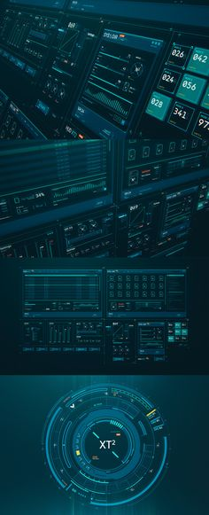 HUD GUI Kit XT2 by TIT0 Ui Ux Design, Icon Design, Design Page, Game Ui Design, User Interface Design, Game Gui, Rob Lowe, Person Of Interest, Mobile Ui