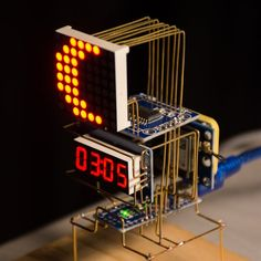 An Arduino powered astronomical clock which displays the Local Sidereal Time(LST) and lunar phase using the date, time and location data provided by a GPS-6MV2 module.
