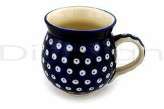 Polish pottery mug, perfect for chai