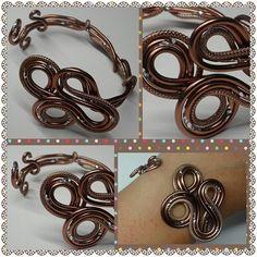 Aluminium Brown Ring