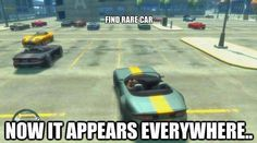 Gta go figure when you track it down then its everywhere