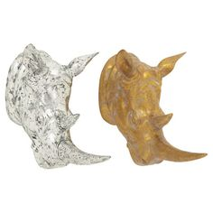 Rigby Rhinoceros Decor (Set of 2) at Joss and Main