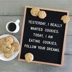 Currently sending out positive vibes for cookies (: @fulcandles) #regram #followoftheday #inspoquote #letterboard #letterboardquotes #womenirl @womenirl #momlife #momproblems #funny #foodart #inspoquote #mondaymood #coffeefix #mominspo #parentlife #girlboss #momboss #mombosslife #buzzfeed #abmholidayspirit #qotd #quotestoliveby #inspoquotes #lawofattraction #positivevibes