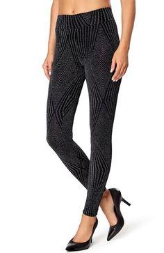 Mega fede Happy Holly Leggings Sort S?lv Happy Holly Underdele til Outlet i dejlige materialer