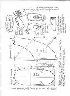 Patrón zapatillas infantiles de tela - Patrones gratis f994c037e54