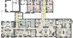 hotel suites floor plans | Luxury Presidential Penthouse Suite | The Langham, London