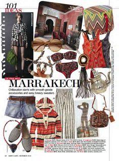 101 Ideas. Marie Claire 2010-11 USA