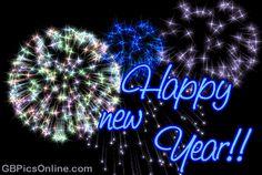 New Year Gif - Happy New Year (shared via SlingPic) Happy New Year Fireworks, Happy New Year Pictures, Happy New Years Eve, Happy New Year Quotes, Happy New Year Wishes, Happy New Year Greetings, New Year Photos, Quotes About New Year, Fireworks Gif