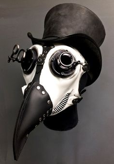 Items similar to Gas Mask, Plague Doctor, White Silicone - on Etsy Steampunk Artwork, Steampunk Mask, Steampunk Cosplay, Steampunk Clothing, Gas Mask Art, Masks Art, Gas Masks, Plague Mask, Plague Doctor Mask