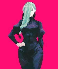 Sad Anime Girl, Anime Art Girl, Anime Guys, Female Character Design, Cute Anime Character, Character Art, Manga Pictures, Pictures To Draw, Resident Evil