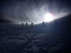 Erlebt eine fantastische #Skitour vom Großvenediger zum Großglockner. Diese Tour wird von einem zertifizierten Berg- und Skiführer geleitet.