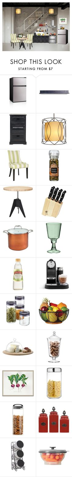 """Gourmet Kitchen"" by anawinchester ❤ liked on Polyvore featuring interior, interiors, interior design, home, home decor, interior decorating, Safavieh, Tom Dixon, Zwilling and Frontgate"