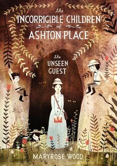 The Incorrigible Children of Ashton Place: Book III: The Unseen Guest by Maryrose Wood, Illustrated by Jon Klassen - I LOVE these books! Just waiting on our library to attain number Book Cover Art, Book Cover Design, Book Art, Jon Klassen, Buch Design, New Children's Books, Beautiful Book Covers, Children's Book Illustration, Book Illustrations