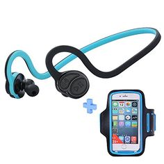Special Offers - Magift Wireless Bluetooth Headphones CSR V4.0 Apt-X Sports Headset Sweatproof Earphone CVC6.0 Noise Canceling Hifi Earbuds HandsFree Headphone with Microphone Armband for Mobile Phone For Sale - In stock & Free Shipping. You can save more money! Check It (December 08 2016 at 11:33AM)…