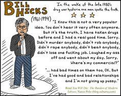 Celebrities and marijuana: Bill Hicks