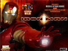 One of the greatest hits ever created by Playtech, Ironman is a progressive jackpot slot game you can also play for free!  http://www.onlineslotgames4u.com/play/ironman-slot-game/