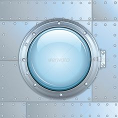 Ship or Rocket Window #GraphicRiver Illustration of Ship or Rocket Window, Porthole - vector illustration with simple gradients - vector graphics with CMYK colors for print - zip file contains images: AI, CDR, EPS, JPG background, bathyscaphe, circular, clean, color image, copy space, editable, iron, nobody, old, patch, shine, station, titanium, train, view, vintage, wall Created: 27February13 GraphicsFilesIncluded: JPGImage #VectorEPS #AIIllustrator Layered: No MinimumAdobeCSVersion: CS…