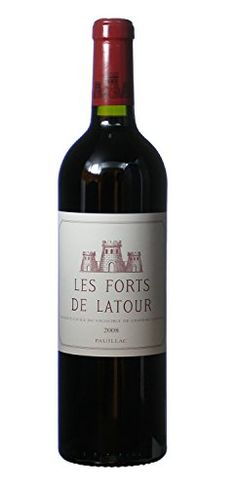 2008 Les Forts de Latour Pauillac exChateau 750 mL -- You can get more details by clicking on the image. (This is an affiliate link)